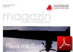 Magazin HS Karlsruhe<br /> Vom Helikopter zu 3D
