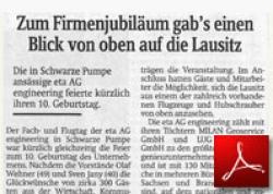 Sächsische Zeitung<br /> Firmenjubiläum