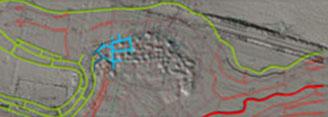 LBGR Bodenmodell mit Rissdaten