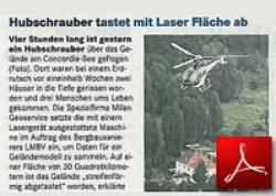 Mitteldeutsche Zeitung<br /> Erdrutsch Laserscan